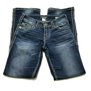 SILVER SUKI Surplus Jeans Flap Pocket